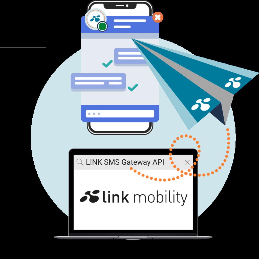 SMS Gateway API LINK Mobility